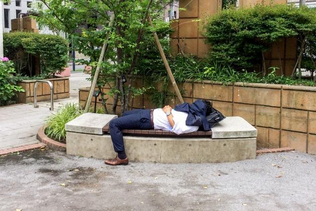 疲れている男性
